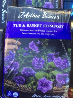 Arthur Bowers Tub Basket Compost