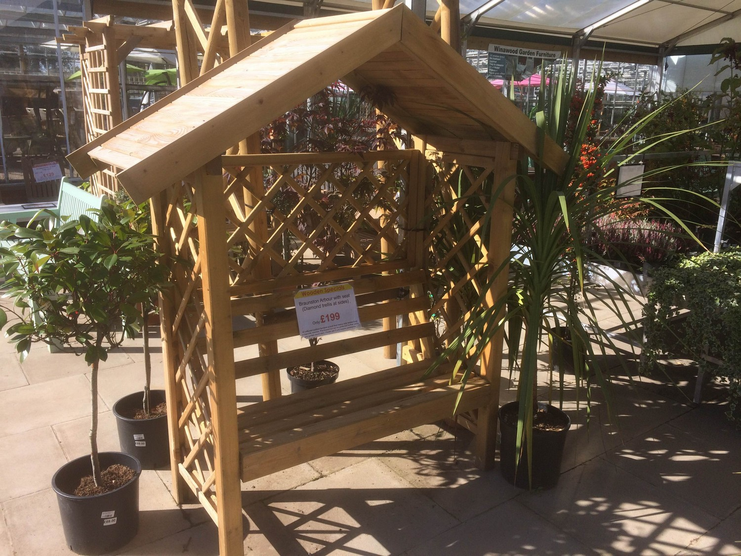 Timber Products Sharnford Garden Centre 01