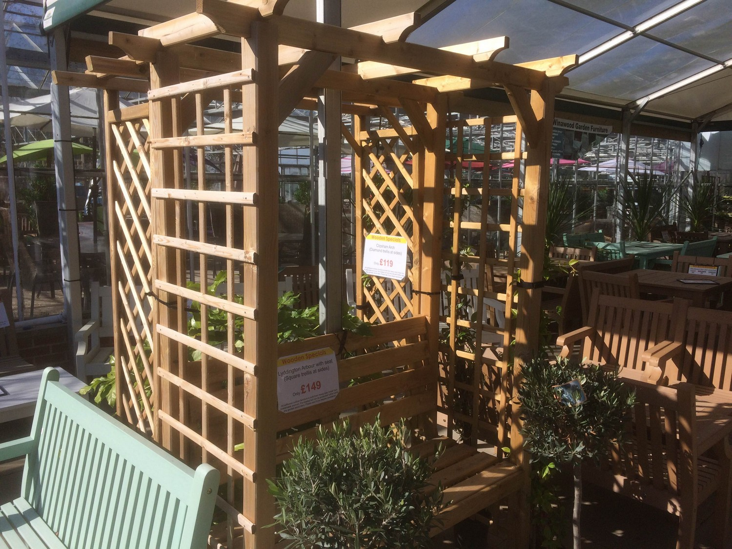 Timber Products Sharnford Garden Centre 04